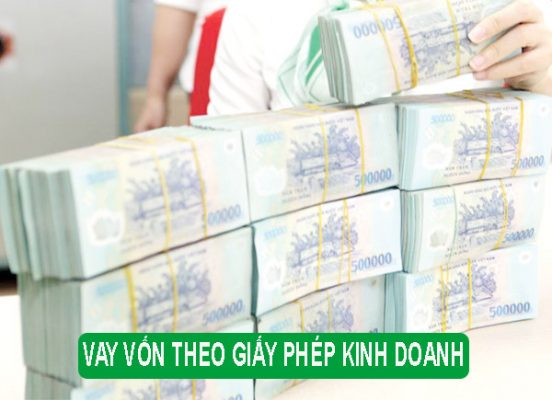 vay tiền theo giấy phép kinh doanh ngân hàng Vietcombank